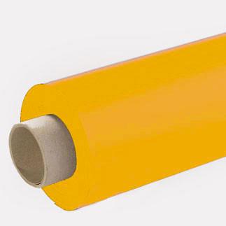 Lackfolie gelb (Rollenware) - 130 cm