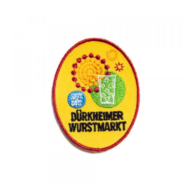 """Abzeichen """"Dürkheimer Wurstmarkt Riesenrad"""" klein"""