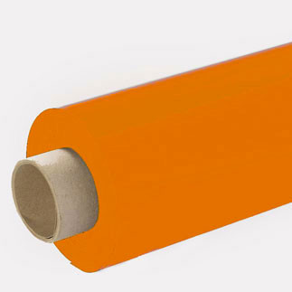 Lackfolie orange (Rollenware) - 130 cm