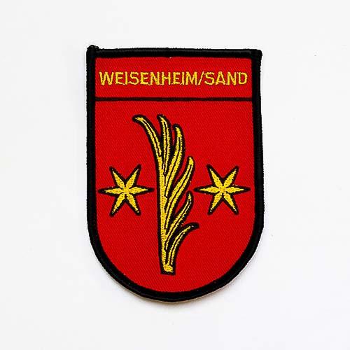 """Abzeichen """"Weisenheim/Sand"""""""