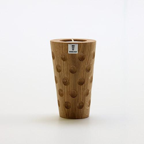 Holzteelicht DUBBE, groß, 0,25 Liter