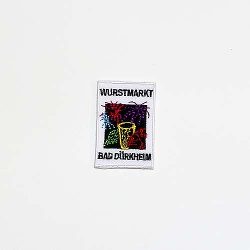 """Abzeichen """"Dürkheimer Wurstmarkt Feuerwerk"""", mittel"""