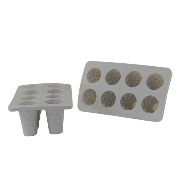 Eiswürfeln Dubbeglasform - 2 Stück- Silikon Eiswürfelform - lebensmittelecht