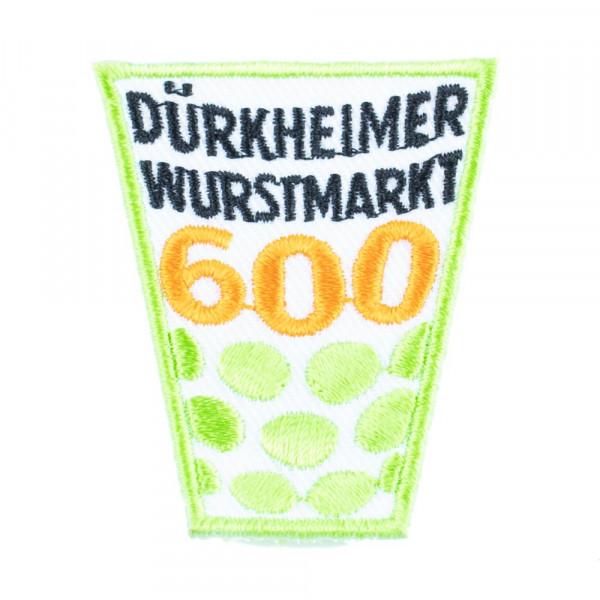 """Abzeichen """"Dürkheimer Wurstmarkt"""", 600 Jahre, klein"""