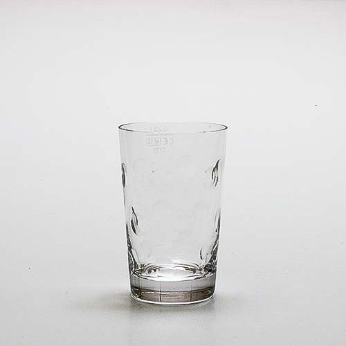 """Dubbeglas """"Kristallglas"""" - handgeschliffen, 0,25 Liter"""