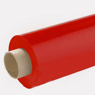 Lackfolie rot (Rollenware) - 65 cm