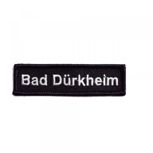 """Abzeichen """"Bad Dürkheim"""" Namensschild"""